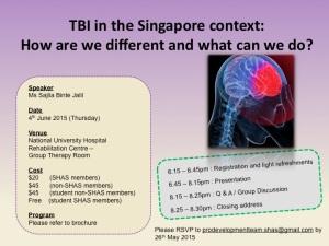 TBI talk