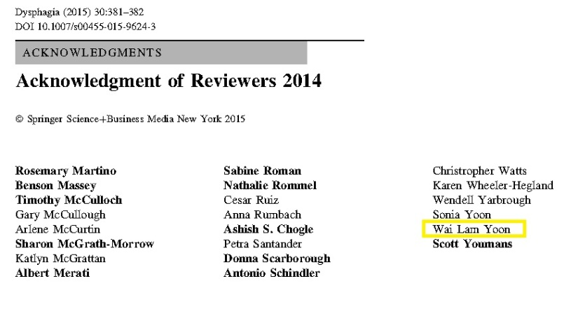 Dysphagia Reviewer 2014